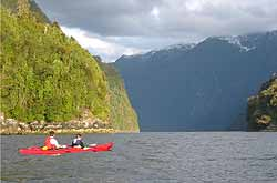 entrance of Quintupeu Fiord