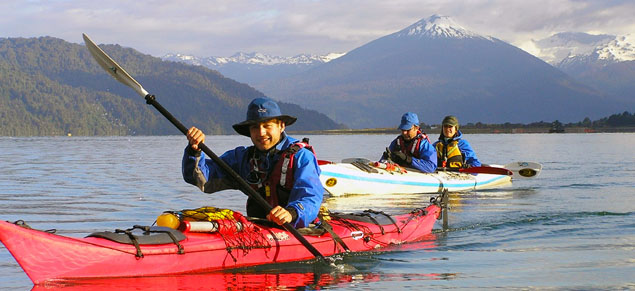 Pumalin Kayak volcanoes and fiords